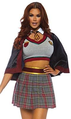 Spellbinding School Girl Adult Costume