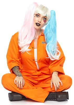 Prison Jumpsuit Adult Costume