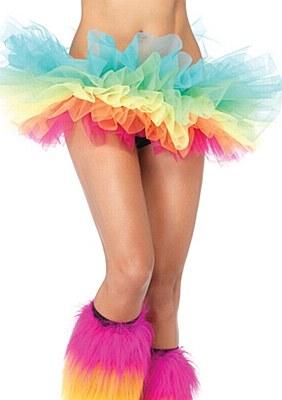 Organza Rainbow Tutu Skirt
