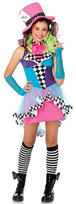 Mayhem Hatter Teen Costume