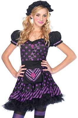 Dark Dollie Teen Costume