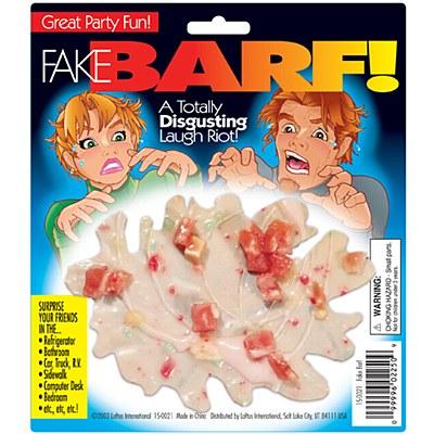 Fake Barf Gag