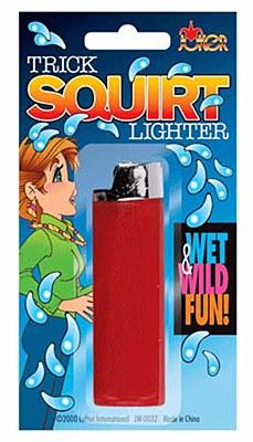 Trick Squirt Lighter Gag