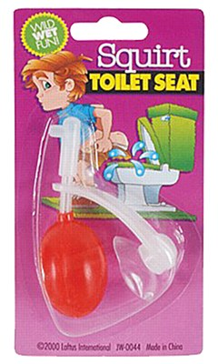 Squirt Toilet Seat Gag