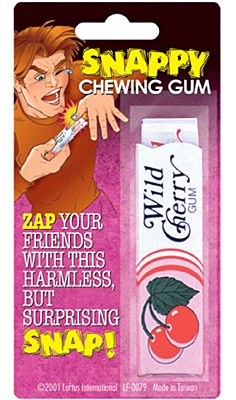 Snappy Chewing Gum Gag