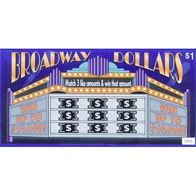 Lottery Tricktics - Broadway Dollars