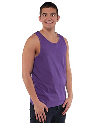 80's Unisex Neon Purple Plus Tank Top