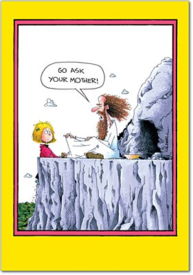 Father's Day - Ask Your Mother Greeting Card
