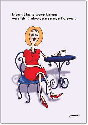 Mother's Day - See Eye To Eye Greeting Card