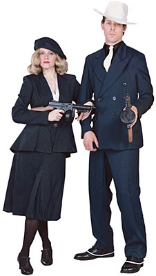 Rental Deluxe Gangster Suit Adult Costume