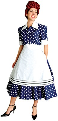 Rental 50's Housewife Adult Costume