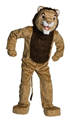 Rental Lion Mascot Adult Costume