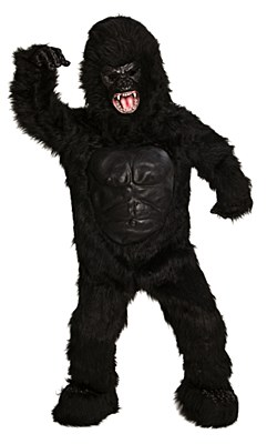 Rental Gorilla Mascot Adult Costume
