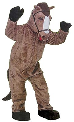 Rental Horse 2-Person Mascot Adult Costume