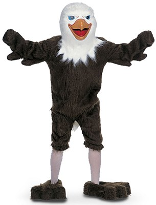 Rental Eagle Mascot Adult Costume