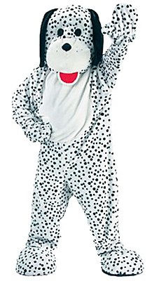 Rental Dalmation Mascot Adult Costume