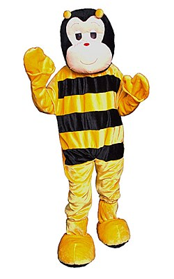 Rental Bumble Bee Mascot Adult Costume