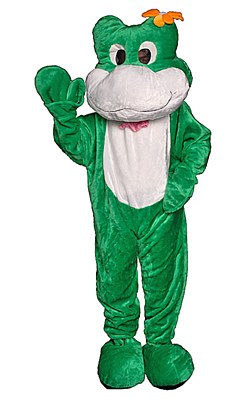 Rental Frog Mascot Adult Costume