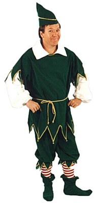 Rental Elf Deluxe Adult Costume