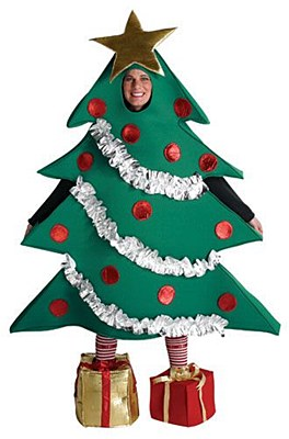 Rental Christmas Tree Adult Costume