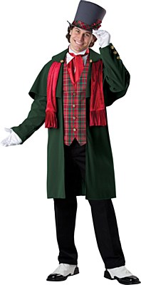 Rental Dickens Yuletide Gent Adult Costume