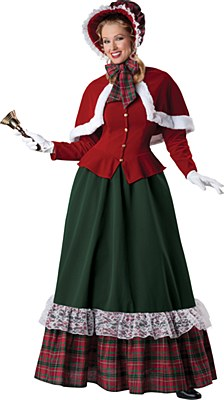 Rental Dickens Yuletide Lady Adult Costume