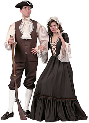 Rental Abigail Adams Adult Costume