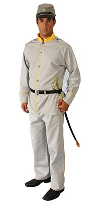Rental Confederate Soldier Adult Costume