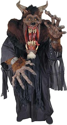 Rental Demon Beast Creature Reacher Adult Costume