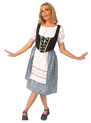 Rental Alpine Female Adult Costume
