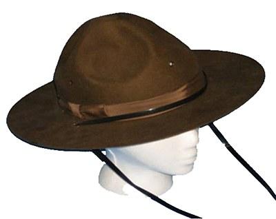 Rental Mountie Deluxe Hat
