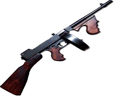 Rental Thompson M1928 Machine Gun Replica