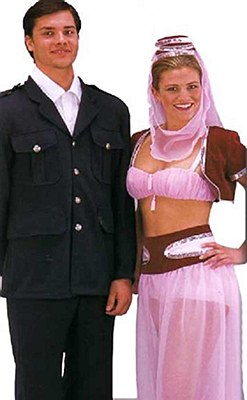 Rental Genie (I Dream Of Jeannie) Adult Costume