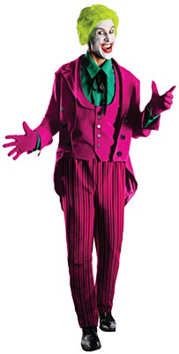 Rental Joker Classic Deluxe Adult Costume