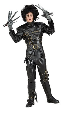 Rental Edward Scissorhands Adult Costume