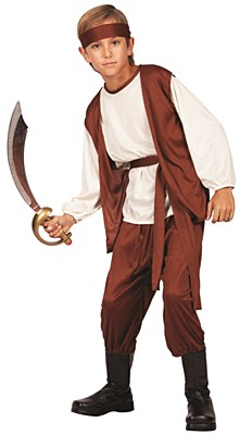 Buccaneer Pirate Boy Child Costume