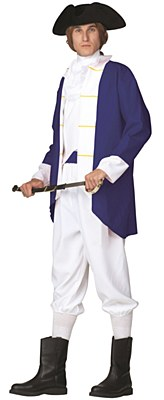 Colonial Captain Revolutionary Soldier Adult Costume