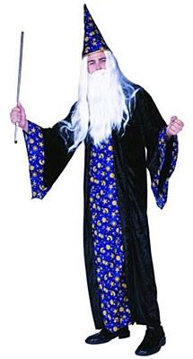 Black Magic Wizard Adult Costume