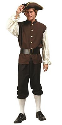 Colonial Man Adult Costume