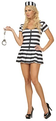 Prison Of Love Prisoner Adult Costume
