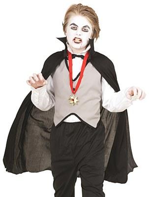 Dracula Vampire Child Costume Kit