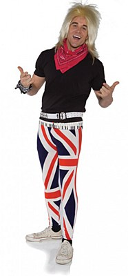 Rock On British Rocker Adult Costume