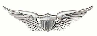Aviator Army Wing Pin