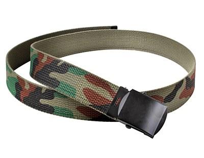 "Reversible 44"" Military Web Belt"