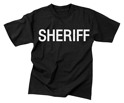 Sheriff Adult T-Shirt