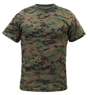 Army Woodland Camo Child T-Shirt