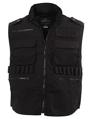 Ranger Black Adult Vest