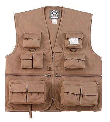 Safari Travel Khaki Child Vest