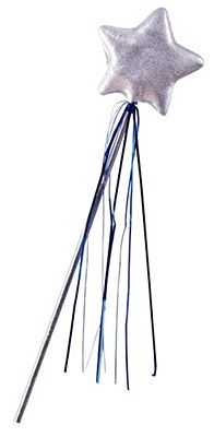 Princess Star Silver Wand
