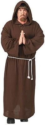 Monk Friar Adult Costume